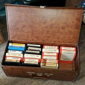 Lot of 20 Untested 8 Track Tapes 1970s Artists